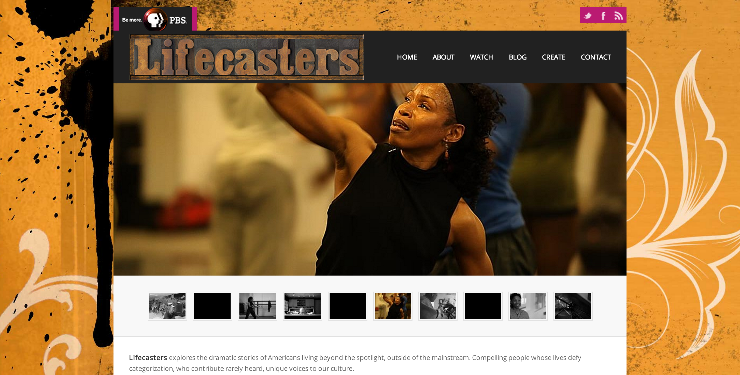 Lifecasters Website